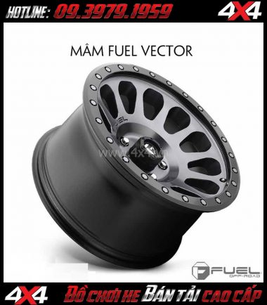 Picture: Bán mâm 18 Inch: Mâm Fuel Vector D601 2018 cho xe hơi xe off-road